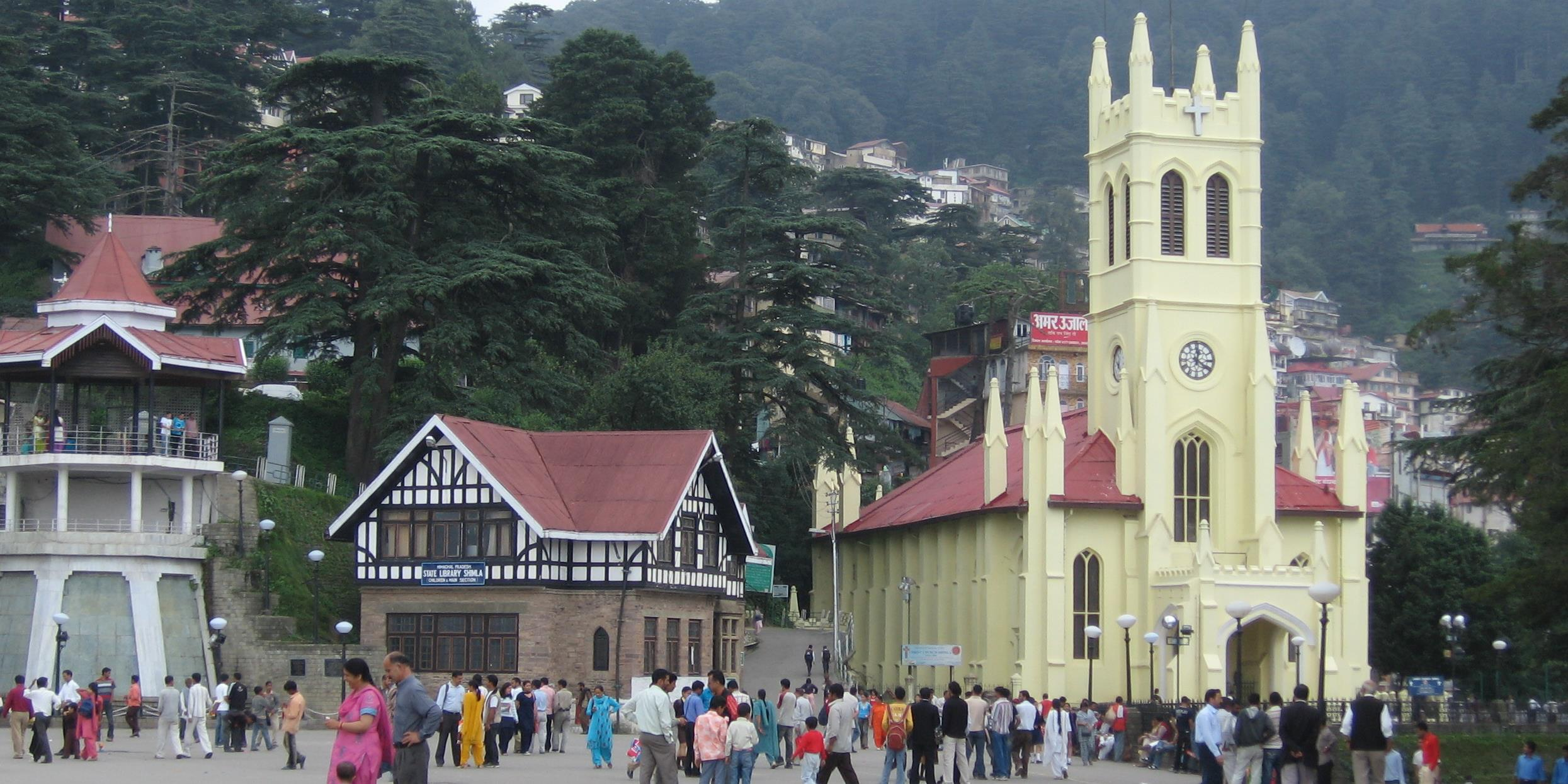 cropchrist church_shimla